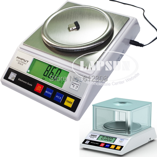 1kg 0 01g 1000g Big Size Digital Electric Jewelry Gram Gold Gem Coin Lab Bench Balance