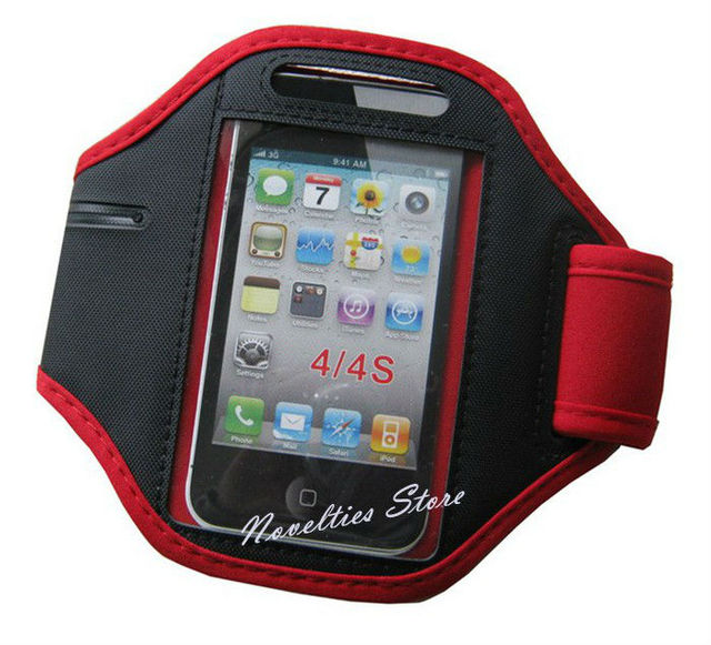 Belt Neoprene Running Sport Armband for cellphone, Colorful Gym Jogging Phone Arm Band Case for i4, i4S, i5; Arm Strap, 6 Colors