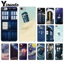 Yinuoda Tardis Doctor Dr Who Police Box DIY Luxury Case for Apple iPhone 8 7 6 6S Plus X XS MAX 5 5S SE XR Mobile Cover(China)
