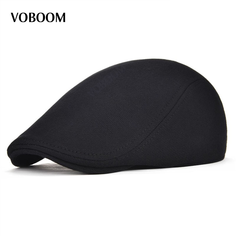 Cotton Men Women Soft Beret Flat Cap Driver Retro Vintage Soft Casual Baker Newsboy Caps Cabbie Hat 312