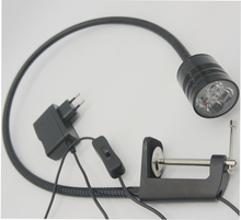 110V/220V 5W Led Clamp Work Light With Plug цена и фото