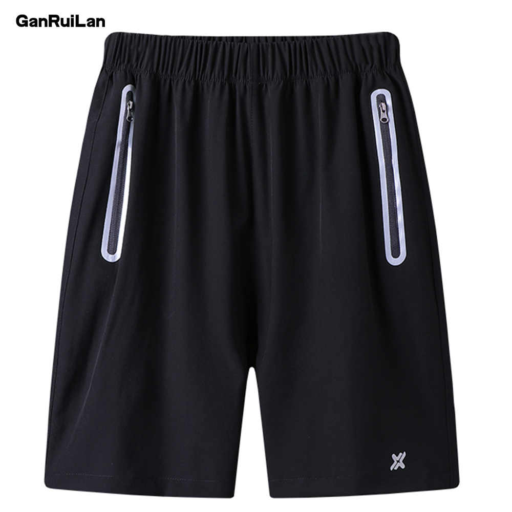 2019 New Gyms Sporting Shorts Men Bermuda Men's Short Homme Casual Brand Clothing Solid Elastic Waist Gyms Shorts DK19024