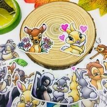 25 Pz/lotto del fumetto animali Scrapbooking Adesivi Per Auto Auto Caso Del Computer Portatile Impermeabile Della Bicicletta giocattoli per bambini Zaino impermeabile Sticker