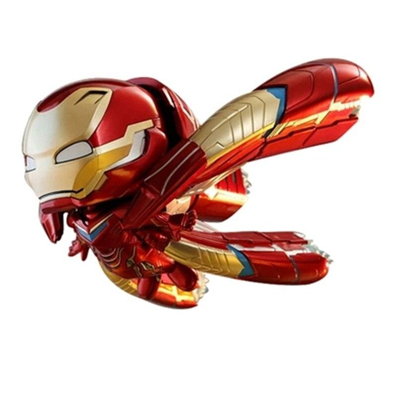 Hottoys Avengers: Infinity War Iron Man MK 50 Q Version Super volant Machine Ver figurine daction Collection jouet X581Hottoys Avengers: Infinity War Iron Man MK 50 Q Version Super volant Machine Ver figurine daction Collection jouet X581