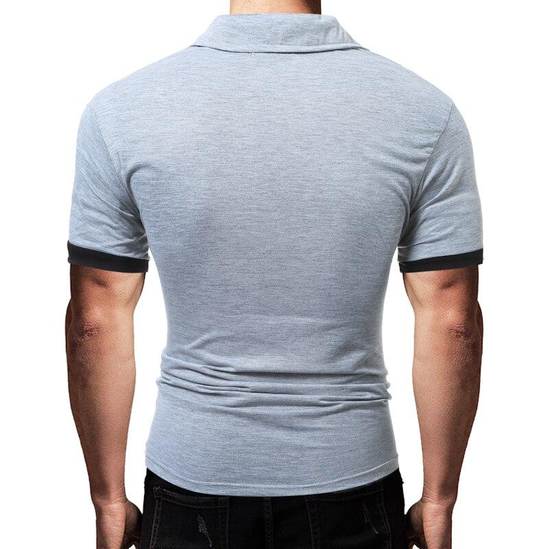 f8fff9dac9 Hot Venda Nova 2018 Marca de Moda Masculina Camisa Polo Impressão Curto  Luva Slim Fit Camisa Dos Homens Do Polo Camisas Casual camisas em Polo de  Dos homens ...