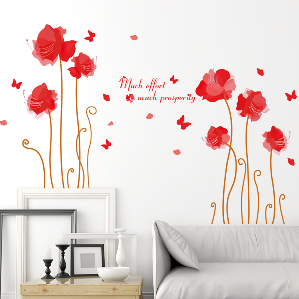 Cute Wall Sticker Removable Lovely Wallpaper Art Decal Room Decoration  Reusable Peel And Stick Wall Sticker Part 95