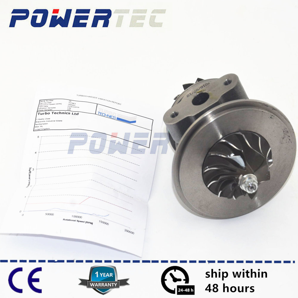 GT2538C turbo cartridge CHRA core 454184 454111 454207 for Mercedes Sprinter I 210D / 310D / 410D / 212D / 312D / 412D OM 602