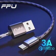 FPU usb type-C кабель для samsung huawei Xiaomi Redmi k20 pro USB C кабель для мобильного телефона Быстрая зарядка кабель для usb type-C шнур