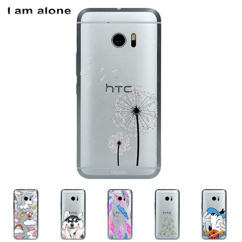 Solf TPU Silicone For HTC One M10 M 10 5.2 inch Color Paint Case Mobile Phone High Quality Cover Bag Cellphone  Shell Skin Mask