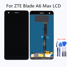 For zte blade A6 Max mobile phone touch screen panel glass display digital panel glass unit for zte A6 maximum LCD display