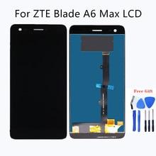 สำหรับ zte blade A6 Max โทรศัพท์มือถือหน้าจอสัมผัสแผงกระจกแผงแก้ว unit สำหรับ zte A6 สูงสุด LCD จอแสดงผล