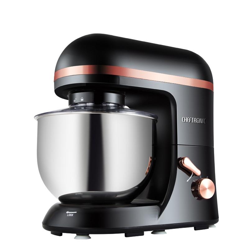 220V/1000W Dough Mixer Kitchen Stand Mixer Milkshake Blender Electric Egg Blender Cooking Machine For Christmas Gift