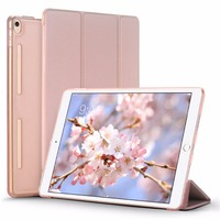 For IPad Pro 10 5 Case Slim Lightweight Smart Shell Stand Cover With Translucent Frosted Back