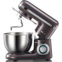 220V 4L Electric Dough Mixer Multifunctional Automatic Food Mixer Egg Beater Milkshake Mixer Kitchen Stand Mixer