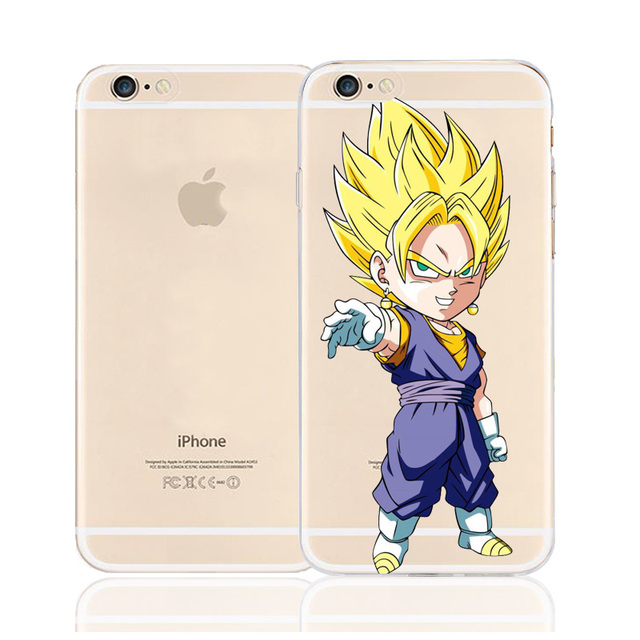 Dragon Ball Z Soft TPU Silicone Case Cover for iPhone