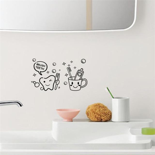Bathroom Decor Decal Stickers 2