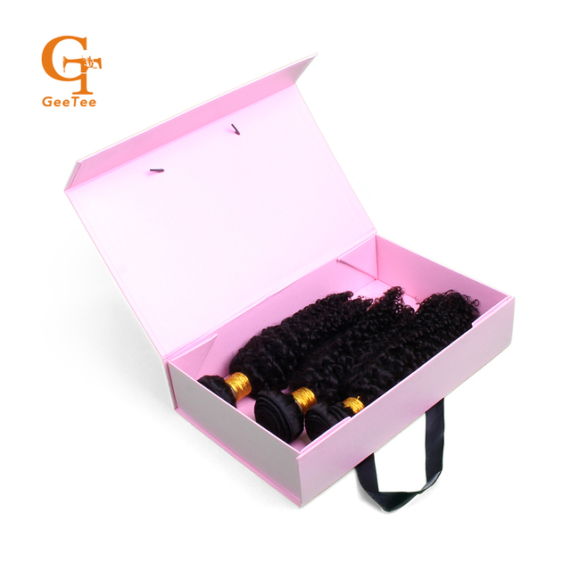 Luxury Gift Paper Packaging Box Black White Pink Boxes