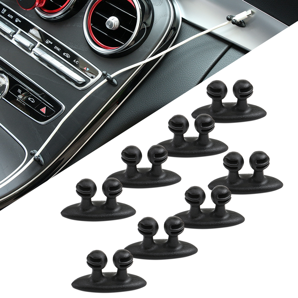 8 шт. автомобильный зажим для проводов наклейки для Volkswagen VW Golf 5 6 7 JETTA PASSAT B5 B6 B7 B8 MK4 MK5 MK6 тигуан Жук поло Бора T-ROC