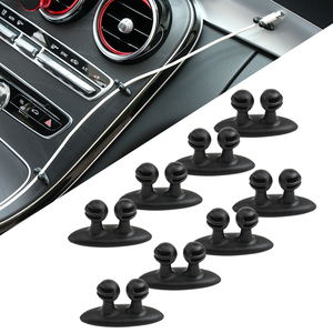 8pcs Car Wire Clip Stickers for Volkswagen VW Golf 5 6 7 JETTA PASSAT B5 B6 B7 B8 MK4 MK5 MK6 Tiguan Beetle Polo Bora T-ROC(China)