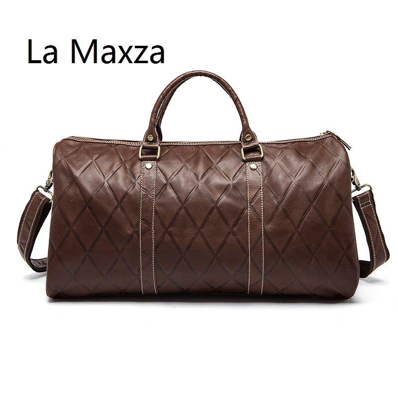 LJX-1096 Travel bag men'  casual luggage fitness bag large capacity handbag travel travel men's bag shoulder bag
