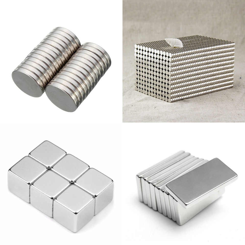 10/20 pcs Neodymium Magnet Permanent N35 NdFeB Super Strong Powerful Small Round Magnetic Magnets Disc 10X1mm