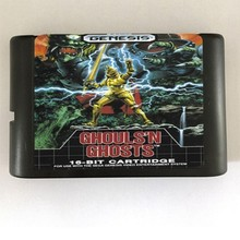 Ghouls'n Spoken-16 bit MD Games Cartridge Voor MegaDrive Genesis console(China)