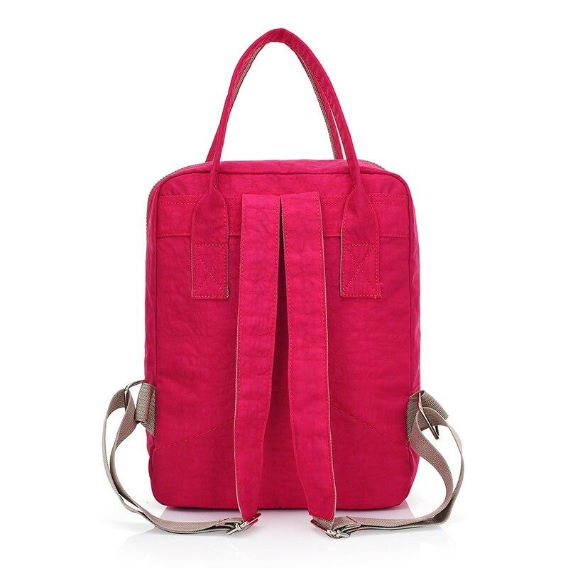 Qadın Sırt çantası Yüksək keyfiyyətli Neylon Məktəb - Bel çantaları - Fotoqrafiya 2