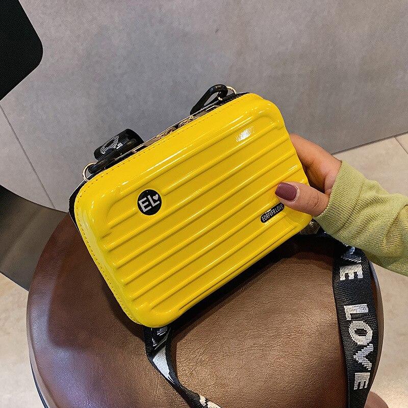 women bag shoulder bag handbag handbag New mini suitcase star bag slung shoulder mini box bag