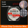 0.02 mm Pure Copper Wire Line for Fix Repair iPhone iPad Phone Motherboard Logic Board PCB Fingerprint Sodering Point Tools