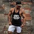 2016 cotton fitness clothes bodybuilding tank top men Sleeveless tops fitness ves