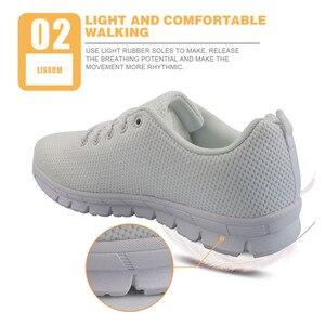 Image 4 - FORUDESIGNS Hot Sale Nurse Pattern Women Casual Sneakers Flats Female Cartoon Nurses Cute Womens Comfortable Shoes Girls Light