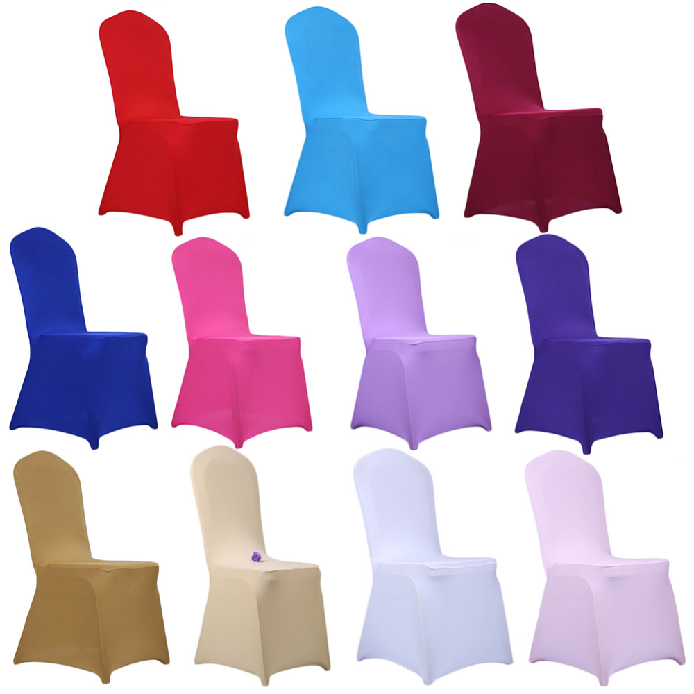 Strech Dining Room Chair Cover Wedding Banquet Protector Slipcover Decoration Drop Shipping