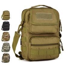 "Здесь можно купить   Multi-purpose Shoulder Bags Nylon Camo Climbing Travel Camping Hunting Cycling Messenger Bag Tactical MOLLE 7"" Tablet PC Sport Bags"