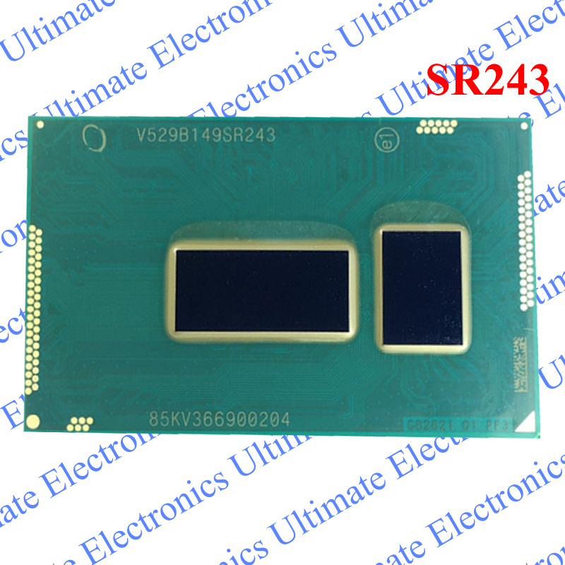 ELECYINGFO Refurbished SR243 3215U BGA chip tested 100% work and good qualityELECYINGFO Refurbished SR243 3215U BGA chip tested 100% work and good quality