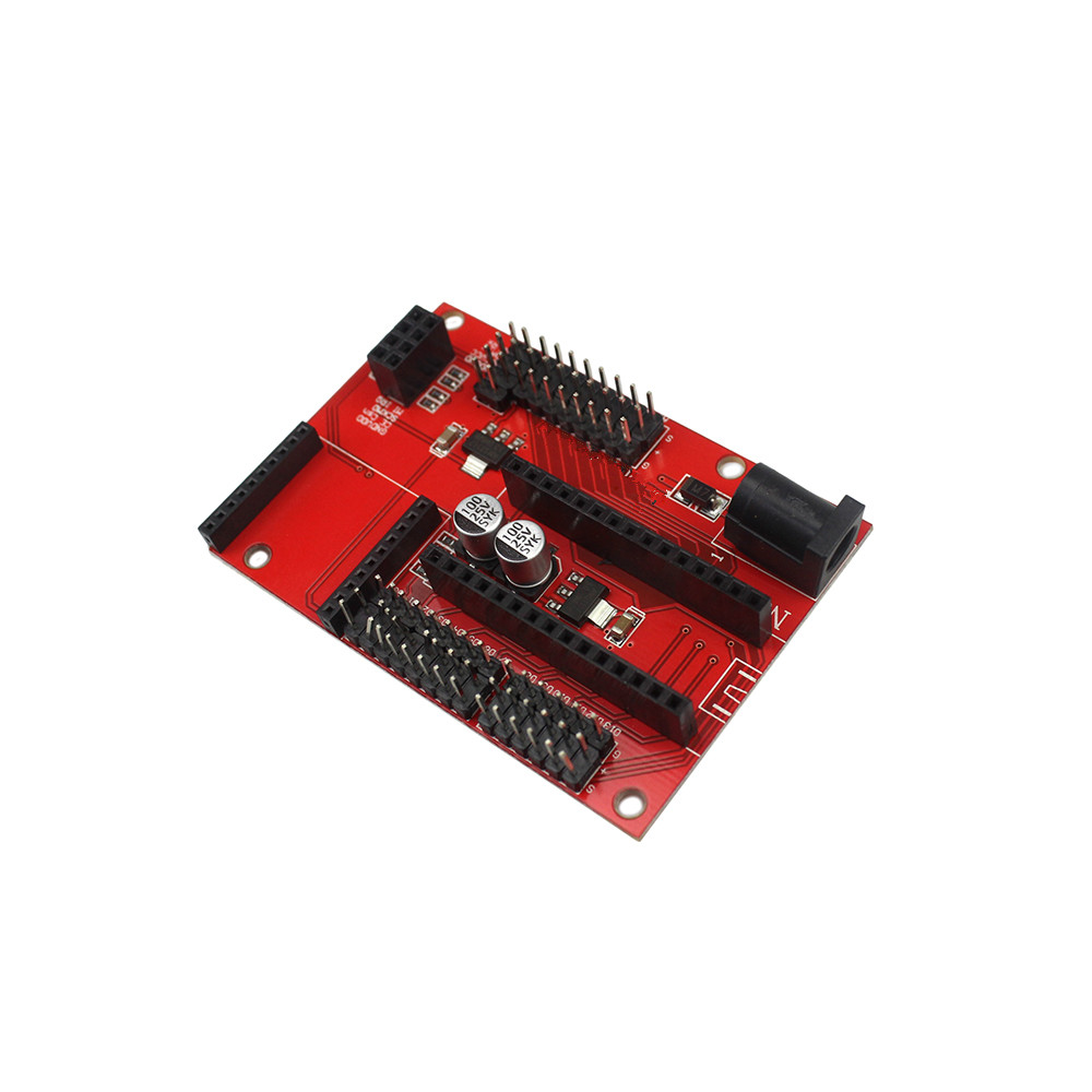 Nano p io wireless sensor expansion board for xbee and