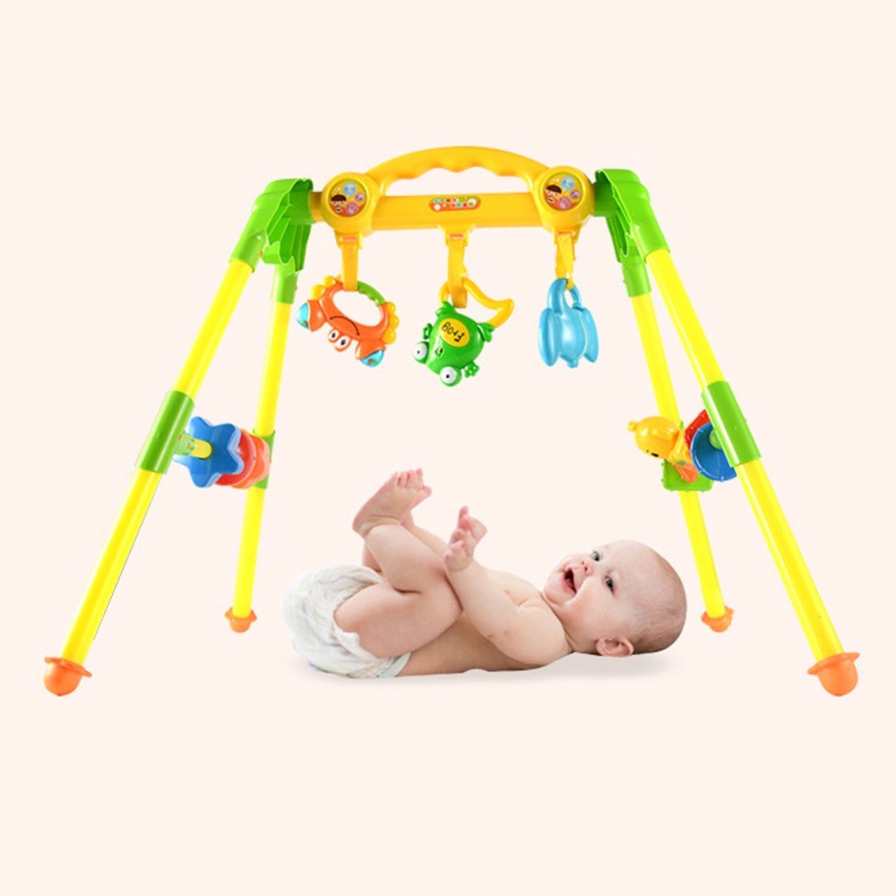 Baby new rattle toddler music fitness baby puzzle children's toys