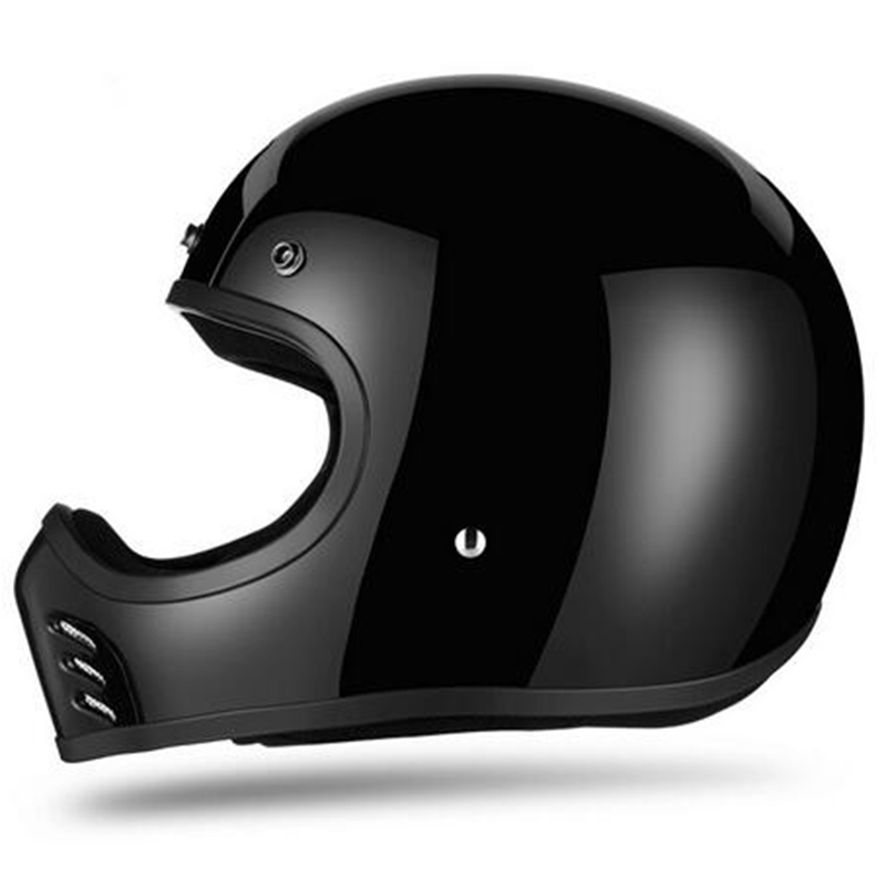 Casque moto adulte intégral casque de course vélo VTT casque tout-terrain léger casque DH Cross