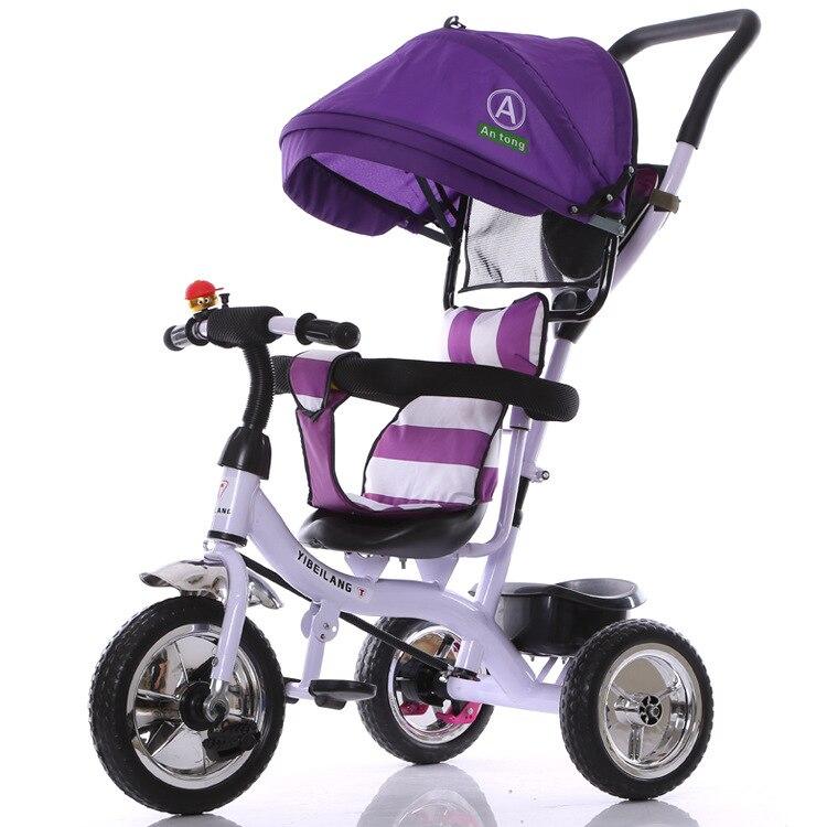 2017 nouveauté bon prix Ride on bike également tricycle vélo panier bébé poussette enfants 1-3-5 ans enfants vélo - 3