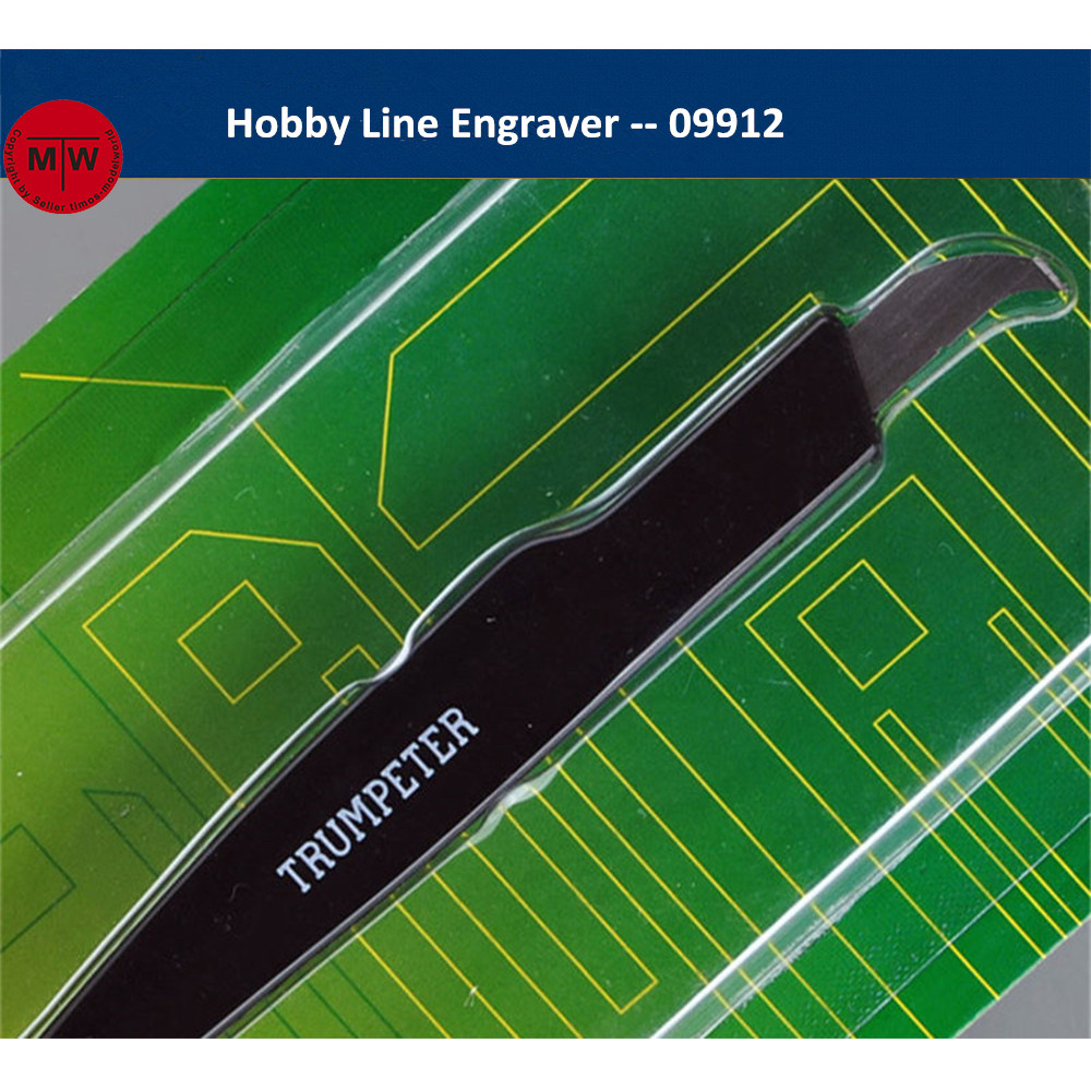 Trumpeter Master Tools 09912 Hobby Line Engraver Model Building Craft Tool(as picture)