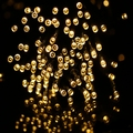 Alta Calidad 100 LED Solar Al Aire Libre LLEVÓ Luces de la Secuencia de Luz lámparas de luz de Hadas solar De Vacaciones Fiesta de Navidad Guirnaldas