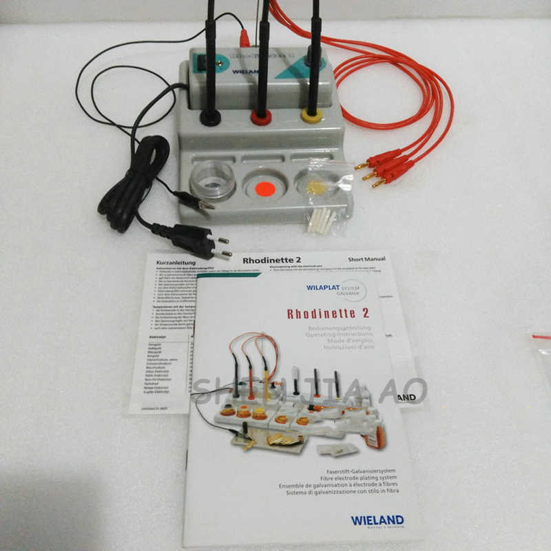 Machine de placage de stylo galvanoplastie machine de revêtement or et argent outils plaqués or pour équipement de bijoux et un stylo 220 V 1 PC