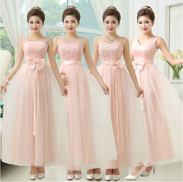 Pink Bridesmaid Dresses Under 100 - Dress Xy