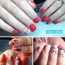 1 Set Mixed Design New Nail Art Sticker