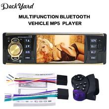 """Deckyard 4019B 1-DIN 4.1 """"дюймовый 12 В автомобиля Радио Авто Аудио Стерео Bluetooth USB AUX FM Радио тюнер с Дистанционное управление игрок автомобиля"""