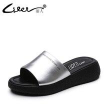Лижэнь размер 40 женская обувь летние удобные дышащие мягкая подошва тапочки ручной работы повседневная женская обувь из натуральной кожи Туфли без каблуков