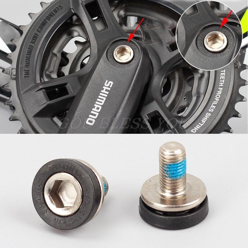 2pcs Bicycle Bottom Bracket Screw Crank M8x18mm Cycling Bike Parts Accessories