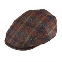 BOTVELA 100% Wool Newsboy Caps Flat Ivy Cap Men Women Tweed Boina Gatsby Hat Golf Cabbie Driver Hunting Beret 002
