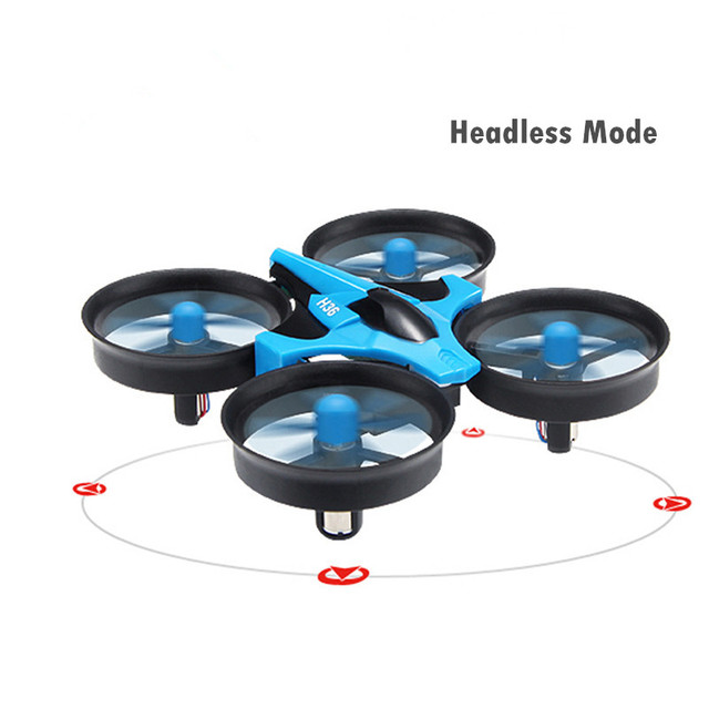 JJRC H36 2.4G Mini RC Drone Aircraft Stabilized Helicopter Remote Control Four Axis Gyroscope One Key Return Headless Model
