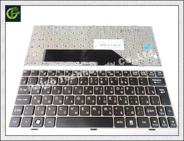 Русская Клавиатура для MSI Wind U135 U135DX U160 U180 U160dx RU ноутбука Серебряной оправе клавиатуры V103622AK1 S1n-1ERU2b1 V103622CK1