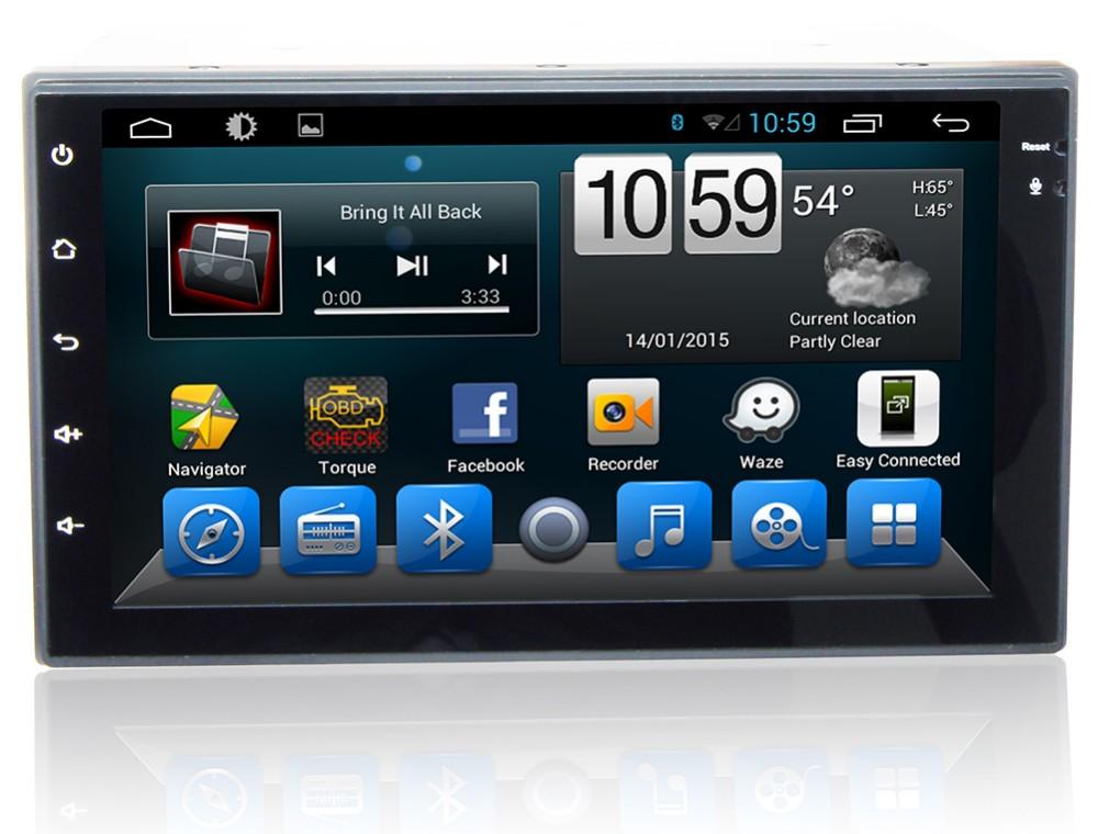 "Top 7"" HD  Quad Core Android 6.0 2 Two Din Universal Car DVD Radio GPS Stereo Navigation Playe for old Nissan Hyundai Kia 1"